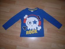 Modré tričko, veľ. 110, f&f,110