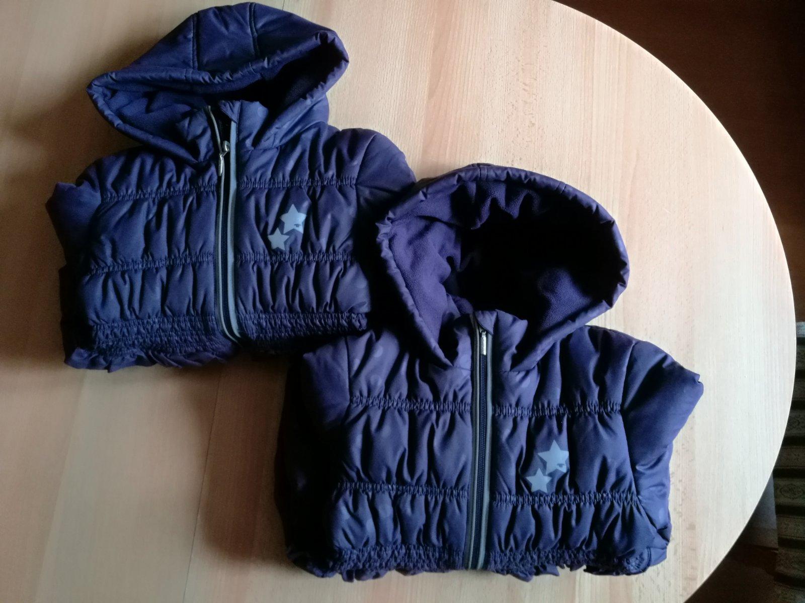 Dievcenske zimne bundy tom tailor vel.116 122 359e4d378c6