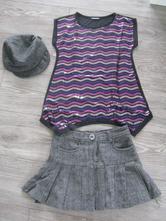 Sukňa s tričkom, 146