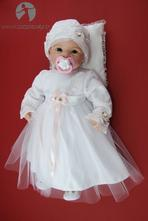 Detské slávnostné šaty roza, 56 - 86