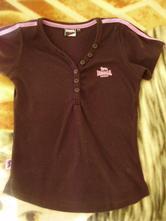 Čierné tričko, lonsdale,152