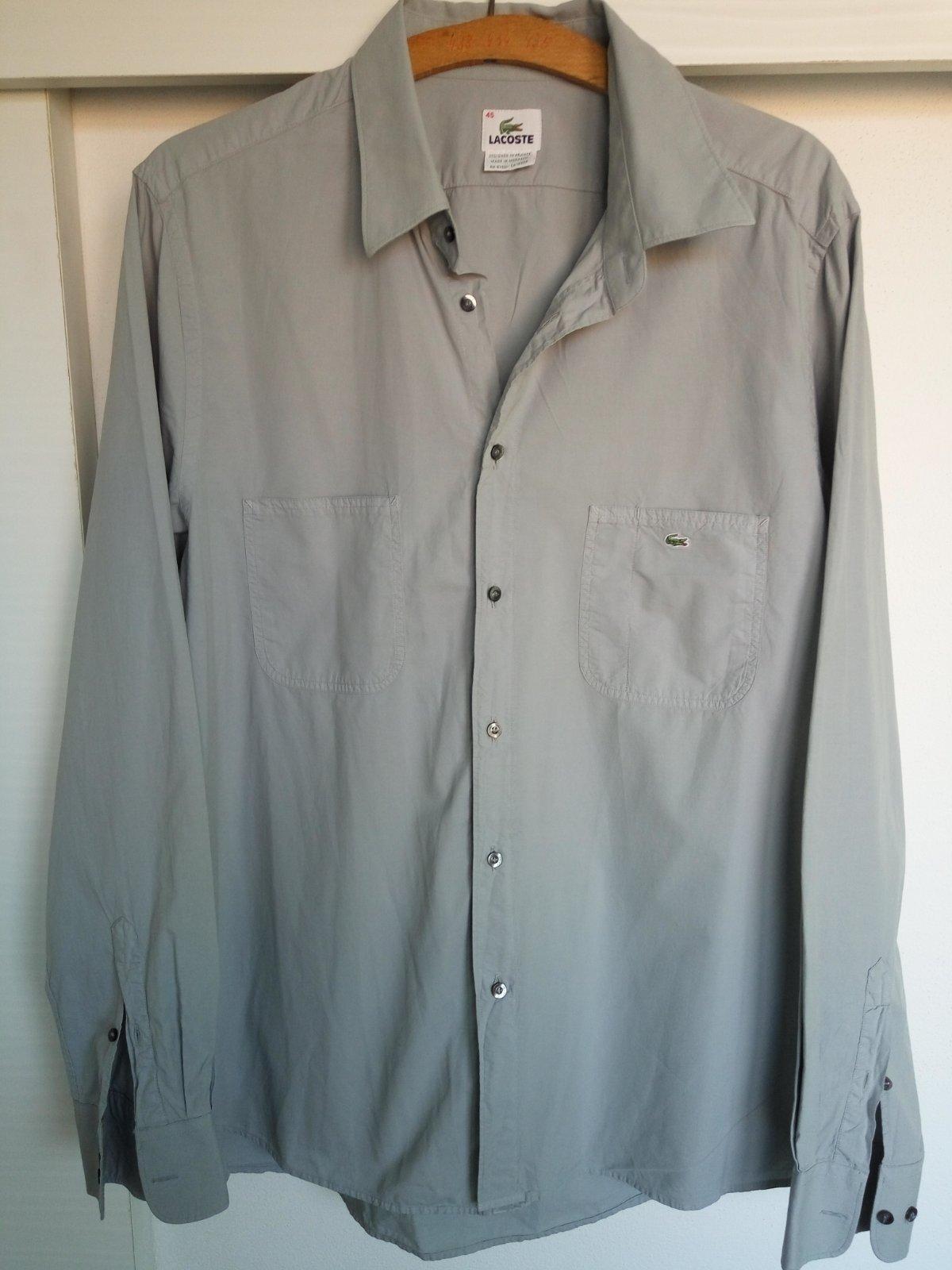 7b7993602d7da Pánska košeľa dlhý rukáv 45, lacoste,45 - 3 € od predávajúcej mimivila | Detský  bazár | ModryKonik.sk