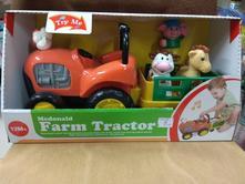 Traktor - hrajúci,