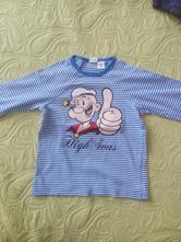 Tričko s dlhym rukávom, h&m,92