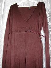 Úpletové šaty, xl