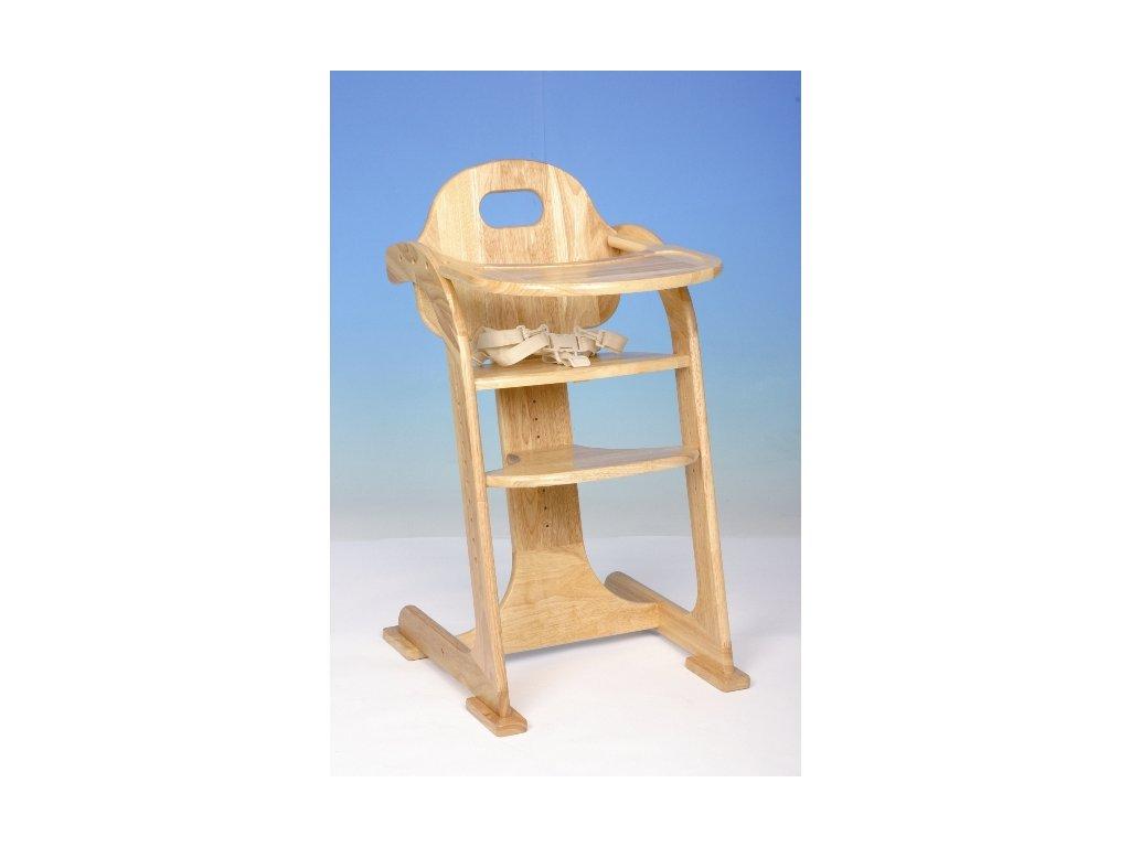 54af395a5bbc Drevená stolička na kŕmenie tiamo