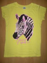 Krásne tričko so zebrou - veľ. 128, kiki&koko,128