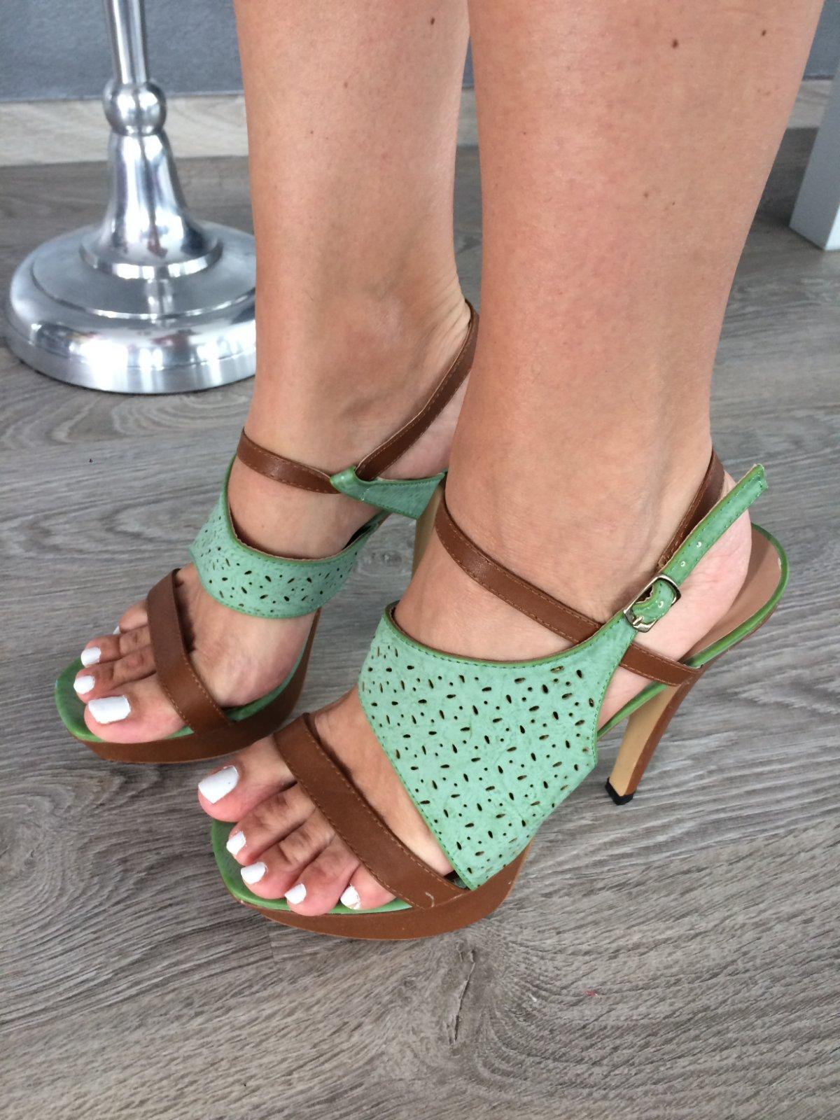 5c270cce3f81 Letne damske vysoke sandale sandalky