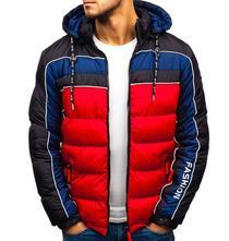 Pánska bunda denny red/black, l / m / xl / xxl / xxxl