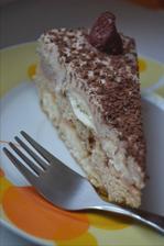 Svieža nepečená gaštanová torta ♥