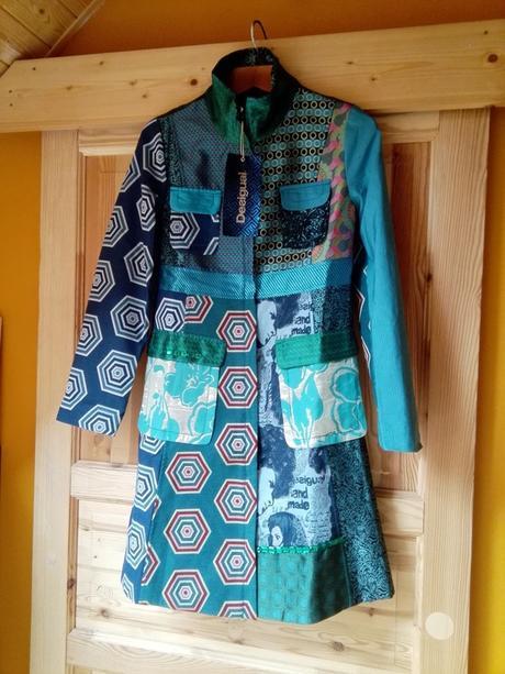 Nový dámsky prechodný kabát desigual veľkosť 42 f3dbb40f558
