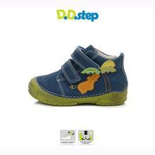D.d.step chlapčenské celokožené topánky bermuda, d.d.step,19 - 24