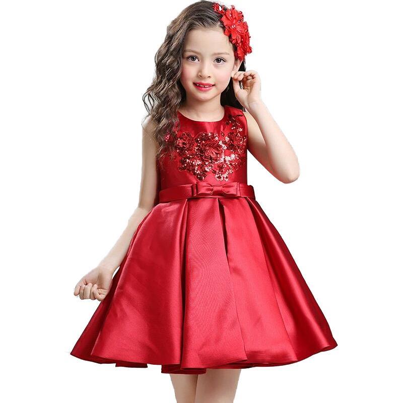 23e50083a10c Krásne detské šaty wgl8020 - červené