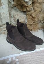 Jazdecké topánky fouganza z brúsenej kože veľ. 38, 38