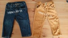 Chlapcenske nohavice v. 80, h&m,80