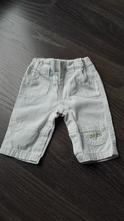 Jemno krémové nohavice, 0-3 mes., 62