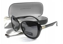 Dámske slnečné okuliare wsj black + puzdro,