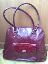 d56b453de8 Nová bordovo-červená kabelka