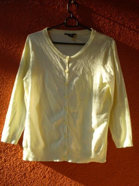 Žltý dámsky sveter b6f592ea68d