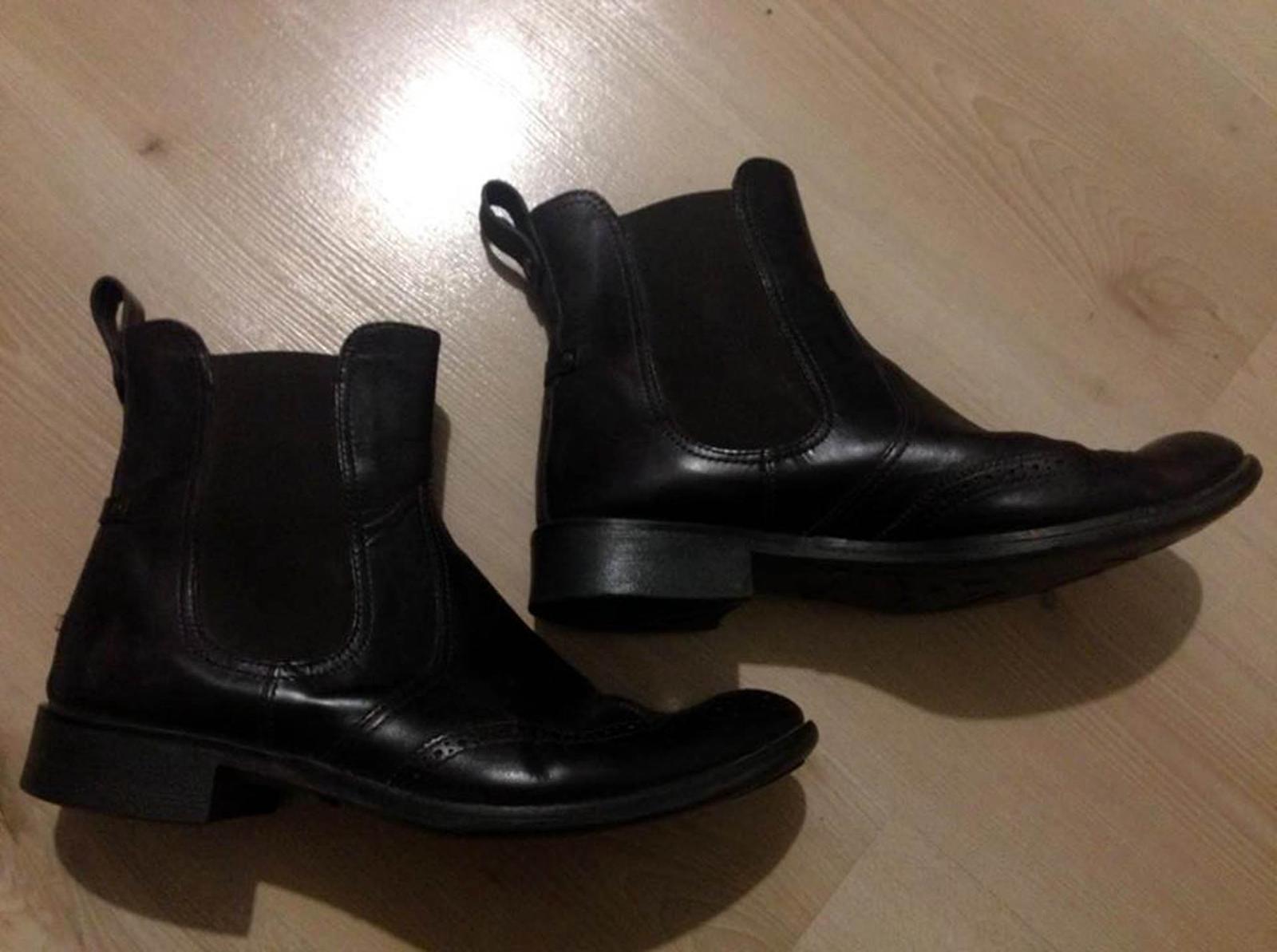 f216016dbd7b Tommy hilfiger kožene topánky