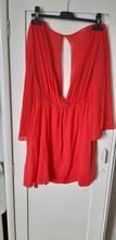 Červené šaty, abercrombie&fitch,l