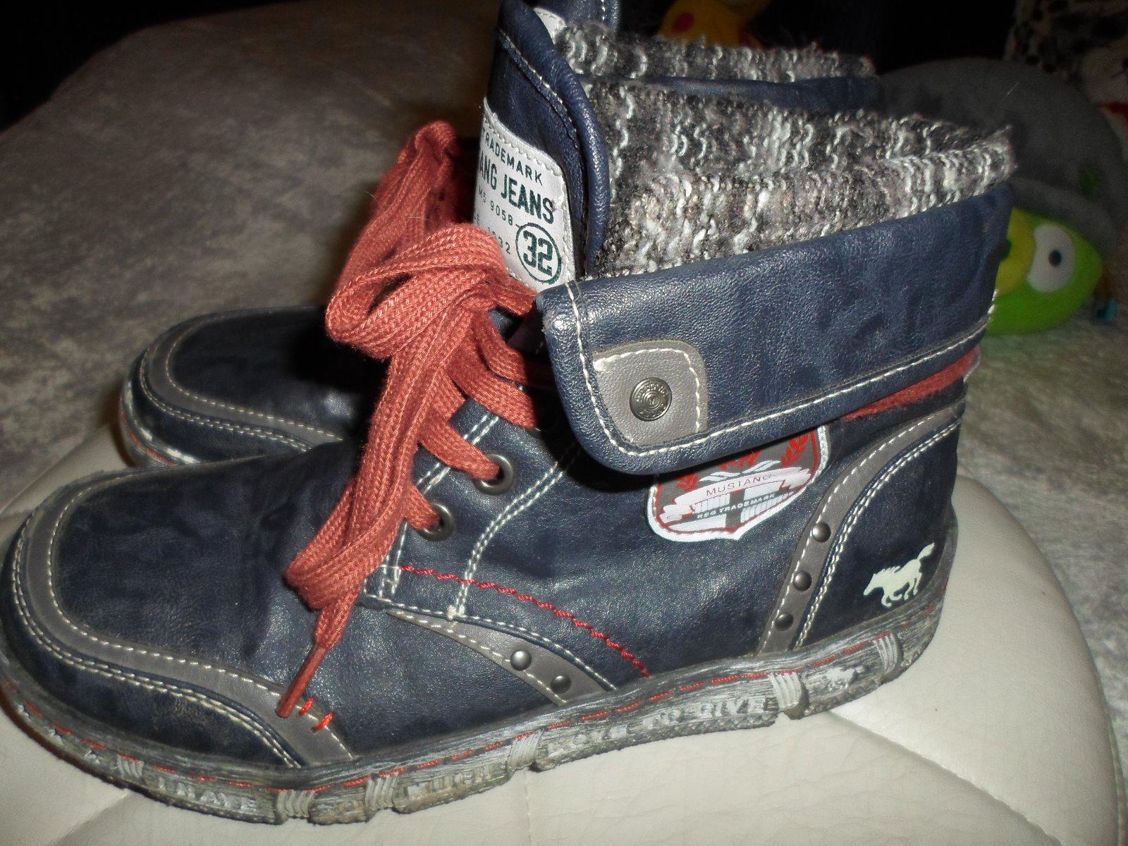 404f6fd34ea41 Zimné topánky, mustang,37 - 37 € od predávajúcej adrianazs | Detský bazár |  ModryKonik.sk