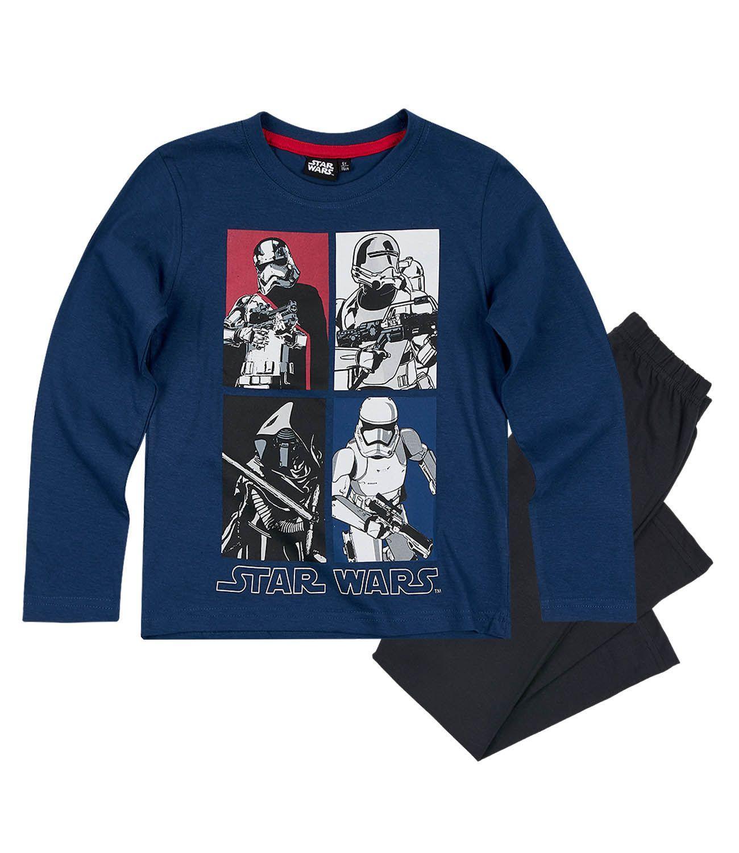 a0a0e56a5 Pyžamo chlapčenské star wars s dlhým rukávom modré, disney,128 / 140 -  15,50 € od predávajúcej detskysatnik | Detský bazár | ModryKonik.sk