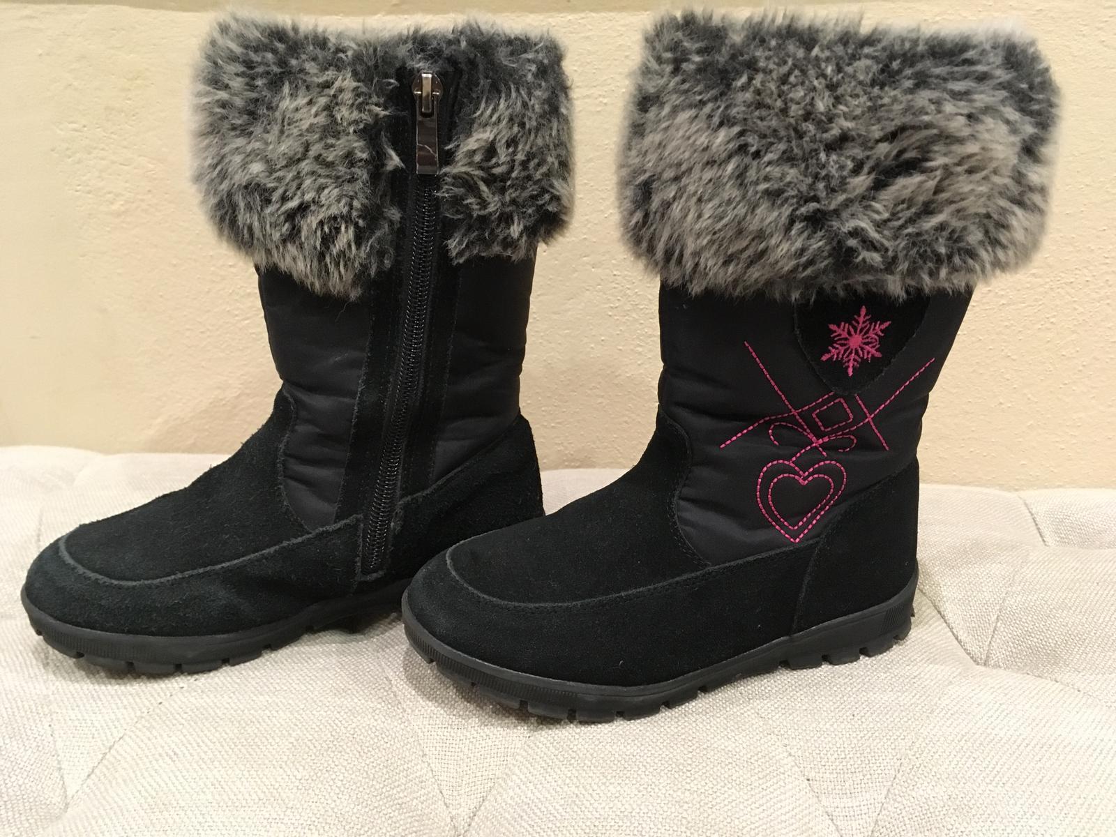 Dievčenské zimné zateplené čižmy protetika 16e2e69c9d3