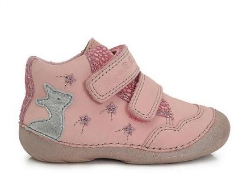 2d24d7b31f15b Detské kožené dievčenské topánky, d.d.step,20 / 21 / 23 / 24 - 31,20 € od  predávajúcej barefootnozka | Detský bazár | ModryKonik.sk