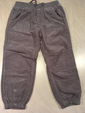Menčestrové dievčenské nohavice na gumičku v páse, lupilu,92