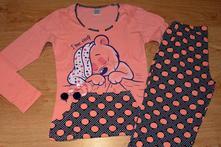 ba51eff64b71 Dámske pyžamo bavlnené