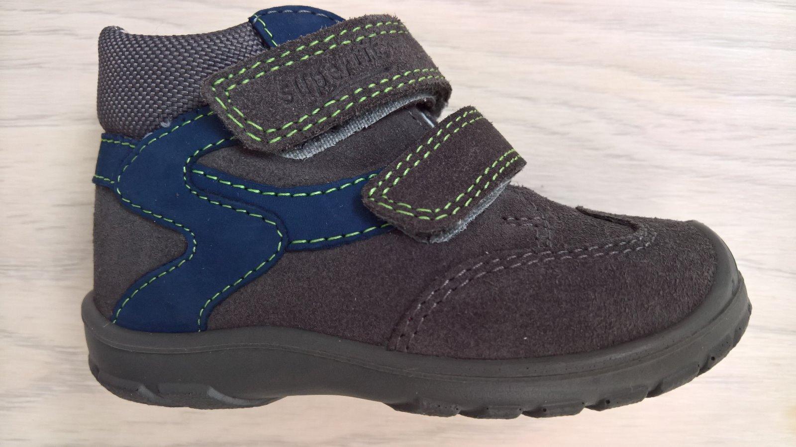 Detské celoročné topánky superfit c0424a11035