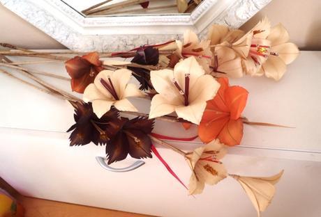 Vysoké kvety do vázy-9ks,