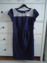Elegantné tehotenské šaty, s