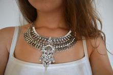 """""""festivalový"""" zaujímavý bohemia náhrdelník,"""