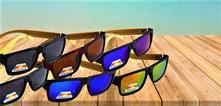 Polarizačné okuliare s drevenými nožičkami,