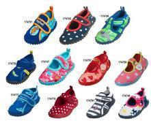 Topánky do vody so suchým zipsom, playshoes,18 - 35