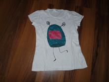 Ručne maľované kozmix tričko, 134, pepco,134