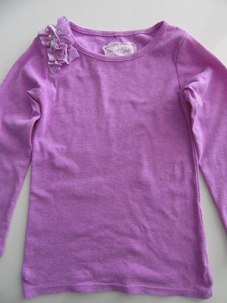 7ca28940200f Fialové tričko