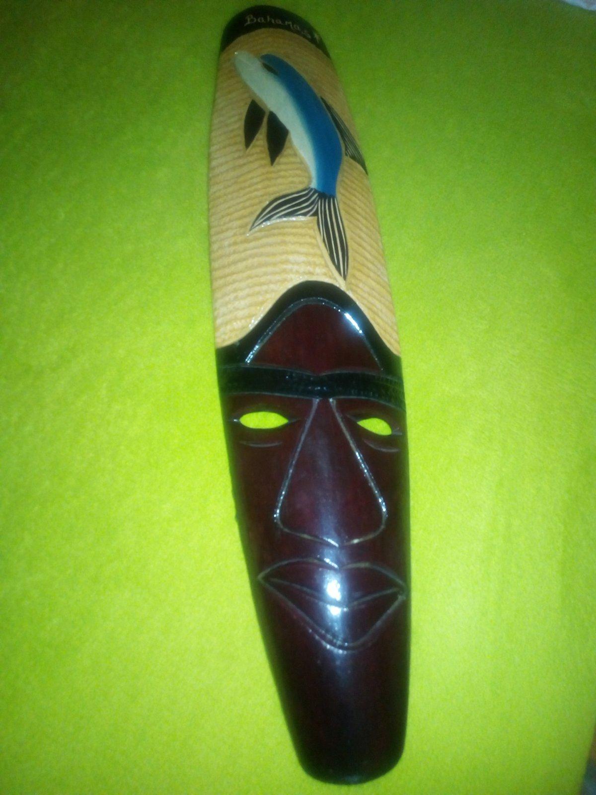 Drevená maska 8443dc28b8