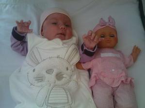 s bábikou spolu cvičime