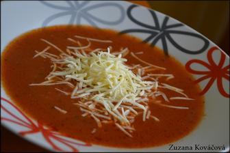 Paradajková polievka ♥ ako ju lubia moje deti....s ryžou a so syrom :)