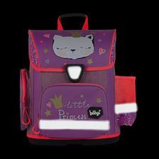 Xenky predškoláčka si vybrala: BAAGL Školská aktovka Mačky EAN 8,59505E+12 - reflexné prvky