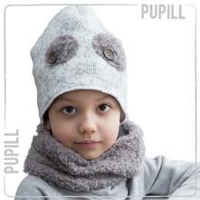 Zimná čiapka pupill leon, 48-50cm, pupill,92 / 98 / 104