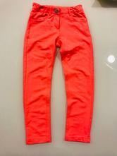 Nohavice teplejšie  lososové farby, pampolina,122
