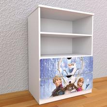 Detská knižnica 110cm - frozen,