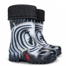 Detské gumáky s vložkou demar zebra 0038, demar,20 - 35