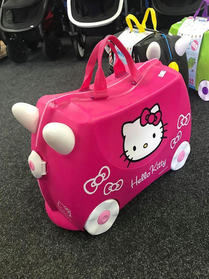 38fc1b0983519 Detský cestovný kufrík - hello kitty, - 45 € od predávajúcej babatkosk1 |  Detský bazár | ModryKonik.sk