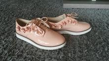 Topánky lakované, zara,37