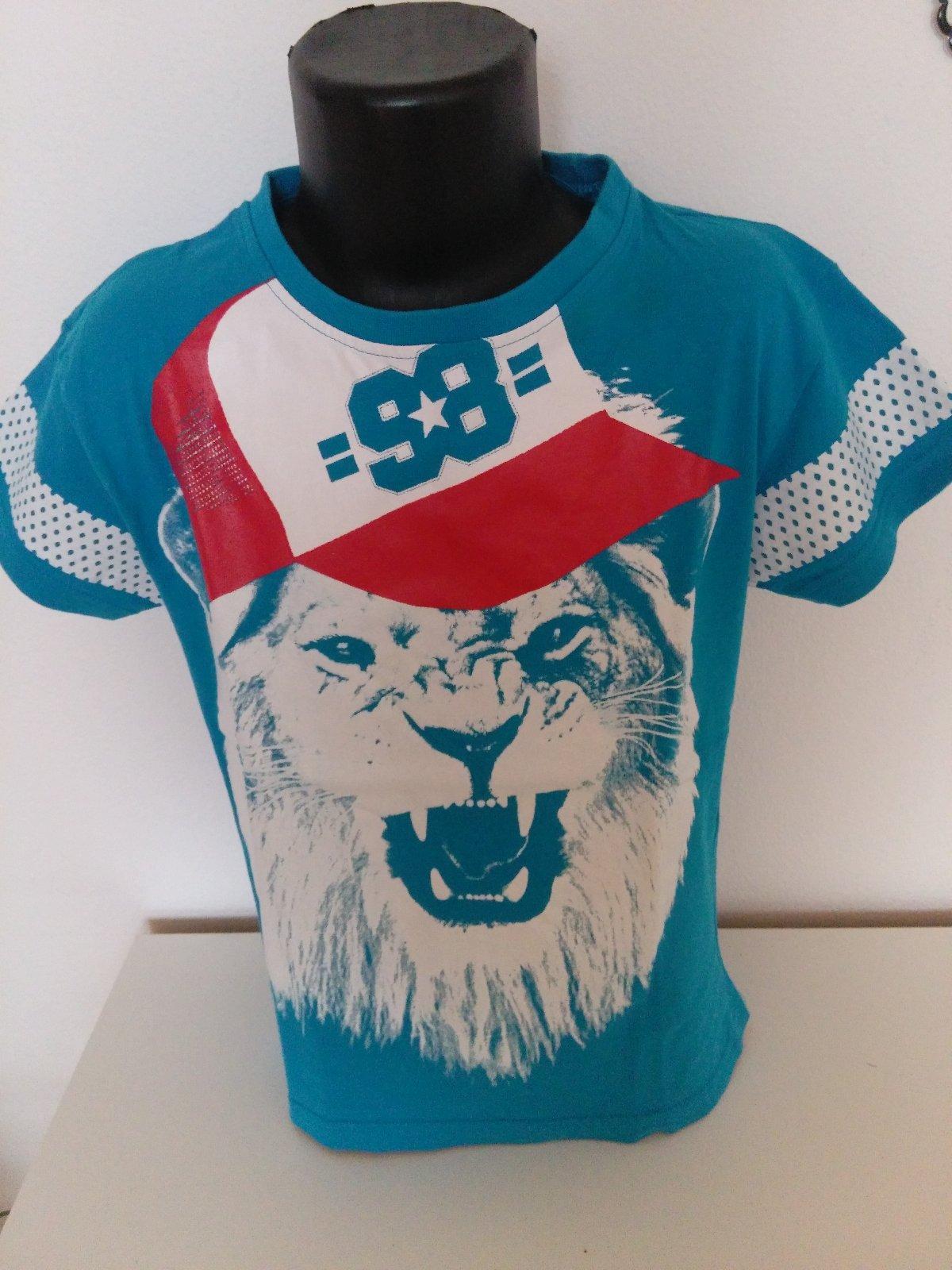 21f28fe827ab Chlapčenské tričko s potlačou leva.